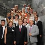 Участники встречи в Нижнетагильском городском историческом архиве