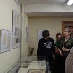 О.А.Бухаркина во время проведения экскурсии.