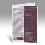 Буклет, подготовленный для выставки архивных документов «Экономика Урала накануне и в годы Первой мировой войны».