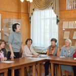 Выступление Сащенко Т.В., начальника отдела по взаимодействию с общественными, религиозными организациями и развитию гражданских инициатив.
