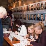 Регистрация участников торжественного собрания, посвященного 95-летию архивной службы Свердловской области