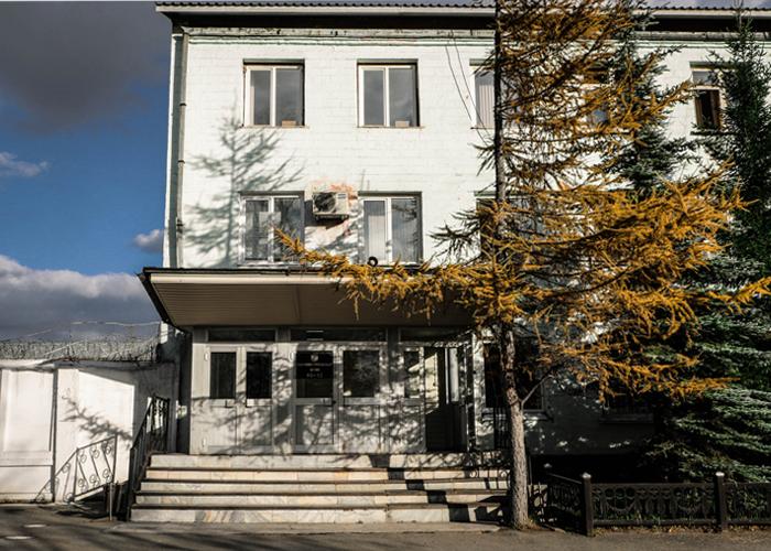 Административный штаб ИК-13. Октябрь. 2014 год. Фото