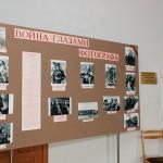 """Экспозиция фотодокументов """"Война глазами фотографа"""", представленная на выставке """"...этот День мы приближали, как могли"""". 25.02.2015 г."""
