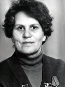 Урываева Евгения Степановна. 1980-е гг.