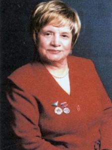 Семеновых Валентина Леонтьевна, ветеран труда, заслуженный учитель РСФСР. 2000-е гг.