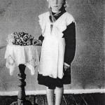 Шалагинова Г.А. в школьные годы. 04.06.1955 г. (НТГИА. Ф.657. Оп.1. Д.33. Л.1)