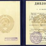 Диплом № 901393 Ушаковой Л.А. 10.06.1963 г. (НТГИА. Ф.669. Оп.1. Д.63)