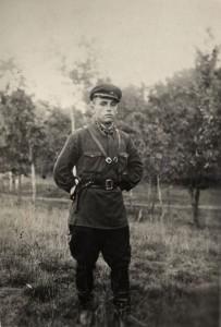 Гончаренко Иван Петрович, командир роты, лейтенант, командир танка «Большевик». Август 1942 года. (НТГИА. Ф.547. Оп.1. Д.109. Л.2)