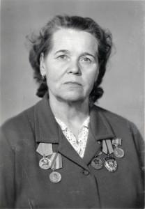 Фотография Ф.В.Шаруновой. 1980-е годы. (НТГИА. Ф.547. Оп.1. Д.36. Л.1)