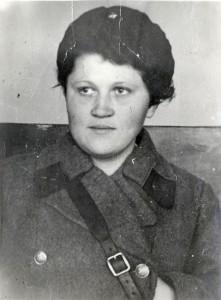 Портрет Тамары Семеновны Сваловой.  [1942 г.]. (НТГИА. Ф.547. Оп.1. Д.36. Л.7)