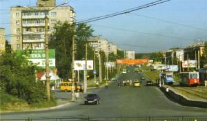 Ленинградский проспект вДзержинском районе. 2000-е годы.  ФотоА. К. Огрызкова.