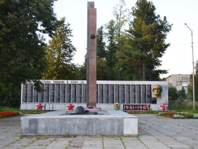 Мемориал Славы. г.Кушва.2000-е годы.