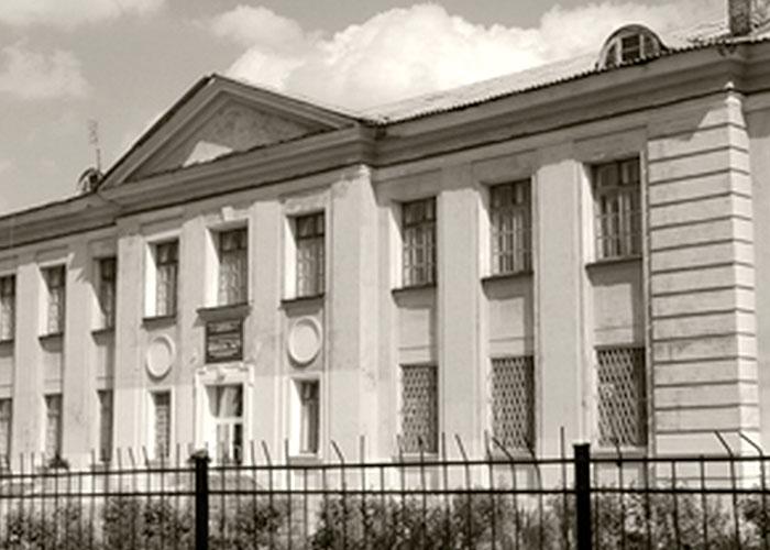 Здание школы № 77 в Дзержинском районе города Нижний Тагил. 2000-е годы.