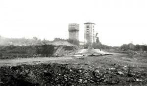 Вид на шахту Магнетитовую Высокогорского рудоуправления. 1960-е годы. (НТГИА. Коллекция фотодокументов.Оп.1ФА.Д.62.Л.9.фото21)