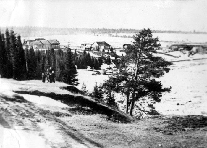 Вид на поселок Горбуново города Нижний Тагил. [1960-е] годы.