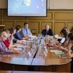 Участники совещания-семинара в конференц-зале администрации Горноуральского городского округа. 20.05.2016 года.