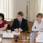 Специалисты Управления архивами в конференц-зале администрации Горноуральского городского округа. 20.05.2016 года.