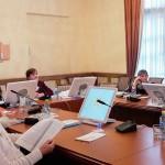 Участники конференции в конференц-зале Дворца культуры имени И. В. Окунева.
