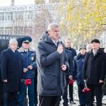 Глава города Нижний Тагил Сергей Носов на открытии памятника «Солдатам правопорядка»