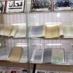 Экспозиция архивных документов выставки посвященной 120-летию Георгия Константиновича Жукова