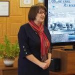 И.В. Злобина, начальник отдела по делам архивов Администрации города Нижний Тагил, на открытии фотовыставки