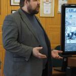 А. Ю. Хлопотов, директор-главный редактор издательства «Книжный дом «ХлопотовЪ» на открытии фотовыставки