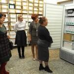 Представители архивной службы Кыргызской Республики в архивохранилище Нижнетагильского городского исторического архива