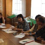 Участники совещания Организационного комитета Управления архивами Свердловской области по подготовке к 300-летию города Нижний Тагил