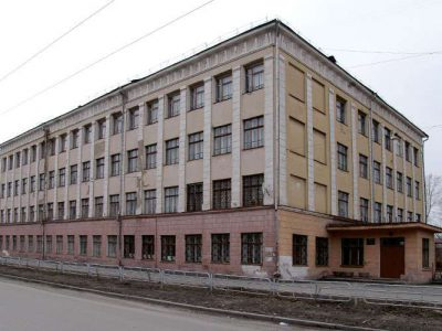 Здание школы № 32 по адресу: ул. К.Маркса, 67; город Нижний Тагил (НТГИА. Ф.42.Оп.4Ф.Д.4.ф.125)