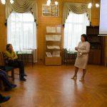 Вязова Татьяна Александровна, директор МКУ НТГИА, в момент демонстрации Информационно-поисковой системы «Электронные описи НТГИА»