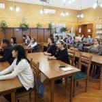 Участники встречи в читально-экспозиционном зале Нижнетагильского городского исторического архива. 27.10.2017 г.