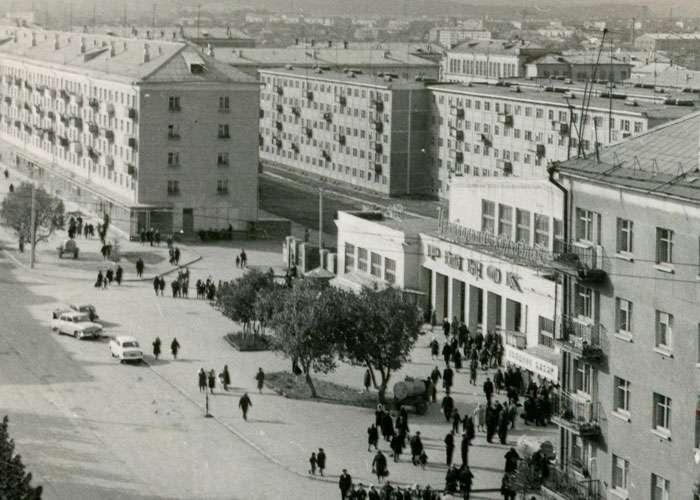 Центральный колхозный рынок 24.09.1967 г. (Коллекция фотодокументов. Оп.1ФА.Д.43.Л.18.ф.436)