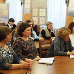 Участники встречи в читально-экспозиционном зале НТГИА. 11.01.2018 г.