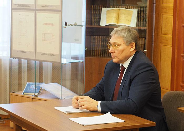 А.А. Капустин, начальник Управления архивами Свердловской области