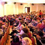 Участники торжественного заседания в зале Нижнетагильского драматического театра. 26.11.2018 г.