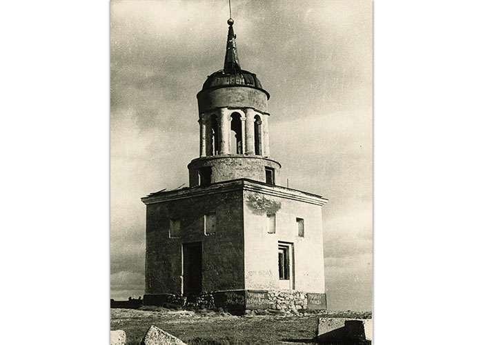 Сторожевая башня на Лисьей горе. 1980 год. (НТГИА. Коллекция фотодокументов.Оп.3ФП.Д.58)