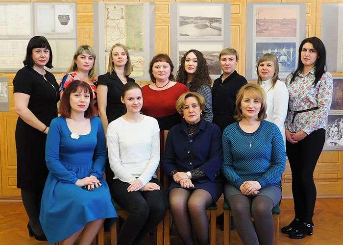 Коллектив Нижнетагильского городского исторического архива. 2018г.
