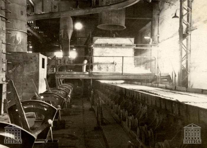 Стан «650» Нижнетагильского металлургического комбината. Октябрь 1962 года.(НТГИА. Коллекция фотодокументов.Оп.1Н1.Д.2573)