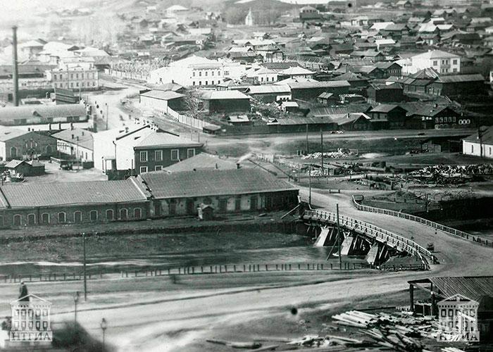 Зеленый мост [1900-е гг.]. НТГИА. Ф.632.Оп.1.Д.117.Л.15.