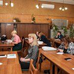 Участники секции 1 V межрегиональной научно-практической конференции «Партийные архивы. Проблемы и перспективы развития», г. Нижний Тагил в читально-экспозиционном зале НТГИА 15 мая 2019 года