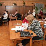 Участники секции 1 V межрегиональной научно-практической конференции «Партийные архивы. Проблемы и перспективы развития», г. Нижний Тагил в читально-экспозиционном зале НТГИА 16 мая 2019 года