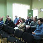 Участники секции 2 V межрегиональной научно-практической конференции «Партийные архивы. Проблемы и перспективы развития», г. Нижний Тагил в конференц-зале Музея памяти воинов 16 мая 2019 года