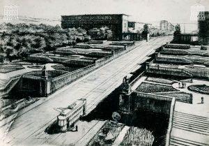Эскизный проект застройки района Красный Камень. 1934 год. (НТГИА. Ф.69.Оп.1.Д.93.Л.13)