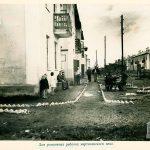 Вид жилых домов по ул. Техническая. 1946 г. (НТГИА. Ф.69.Оп.1.Д.209.Л.74)