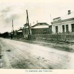 Вид 2-х квартирных жилых домов по ул. Матросова. 1946 г. (НТГИА. Ф.69.Оп.1.Д.209.Л.81)
