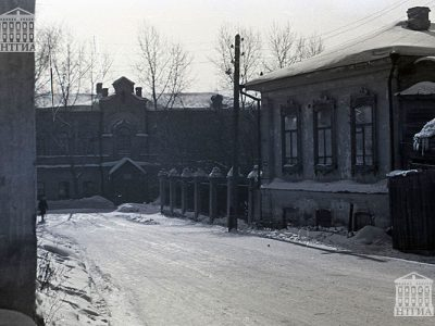 Улица Огаркова. 1971 год (НТГИА. Коллекция фотодокументов.Оп.1Н1.Д.85).