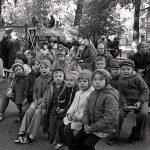 Жители ул. Победы на празднике двора. 1979 г. (НТГИА. Коллекция фотодокументов.Оп.1Н1.Д.1528)