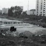 Строительство автодороги по ул. Серова. 1989 г. (НТГИА. Коллекция фотодокументов.Оп.1Н1.Д.1987)