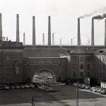 Главная проходная Нижнетагильского металлургического комбината. 1967 г. (НТГИА. Коллекция фотодокументов.Оп.1Н1.Д.2412)