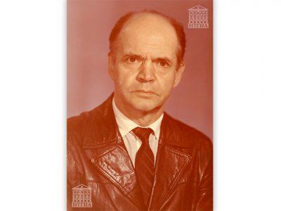 Портрет Виктора Григорьевича Здесенко. 1975-1980 гг.